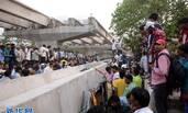 印度一立交桥垮塌致16死