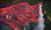 夏威夷基拉韦厄火山喷发加剧画面