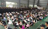 浙江警方刑拘213名犯罪嫌疑人画面