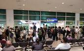 大批记者在马来西亚机场等待金正男儿子