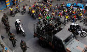 巴西黑帮火拼 上千警力突击贫民窟