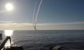 俄罗斯新型核潜艇连发4枚洲际导弹