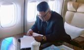 金正恩乘坐的中国专机内景画面曝光