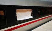 京沪高铁G40受彩钢板撞击后 多趟高铁晚点