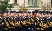 俄罗斯高校的红场毕业礼