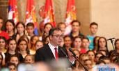 塞尔维亚举行总统就职典礼