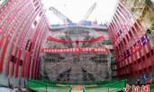 中国最宽江底隧道:汽车地铁一起跑