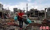 菲律宾马拉维战争难民首次回家