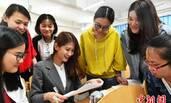 台湾女教师到大陆二线城市教书