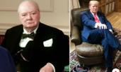 特朗普坐在这张椅子上拍照引发不满