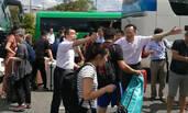 中国领事馆来日本机场接人了