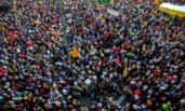 加泰罗尼亚民众大游行