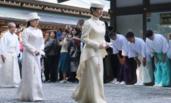 大婚临近 日本公主随母参拜伊势神宫