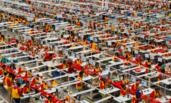 中国工厂在非洲 员工月收入达7000