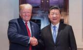 中美元首共进晚餐 举行会晤