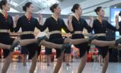 四川:空姐航站楼跳舞、走秀