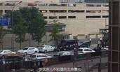 北京:美国驻华大使馆门口现拆弹部队