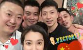 """醋坛子翻了!李冰冰""""霸占""""了男子乒乓球奥运冠军们"""