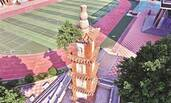 福建388年宝塔塔顶长树
