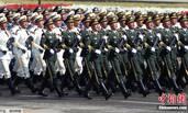 解放军三军仪仗队亮相巴基斯坦阅兵式