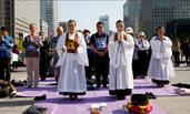"""韩国民众绝食抗议部署""""萨德"""""""