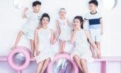 李冰冰带小外甥儿童乐园玩耍 妹妹高颜值抢镜