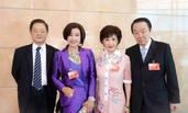 刘晓庆罕见携75岁富商丈夫露面 一身紫装英姿飒爽