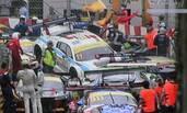 澳门GT世界杯12辆赛车连撞现场