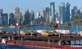 卡塔尔国庆阅兵彩排现场