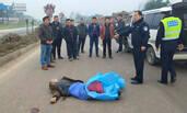 男子车祸身亡 交警就地拦违法司机警示教育