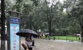 这是暴雨后的北京