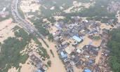 特大暴雨后的广州