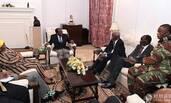 津巴布韦巨变后穆加贝首次露面