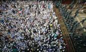 """孟加拉穆斯林""""围攻""""美国大使馆抗议"""