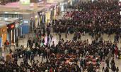 上海火车站一幕