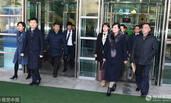 玄松月率朝鲜艺术团先遣队赴首尔考察