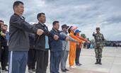 黑龙江机关公务员接受军训