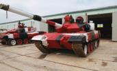 参加坦克两项赛的96B涂装成这样 险些认不出来