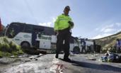 哥伦比亚致24死巴士车底藏半吨大麻
