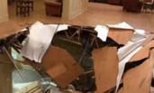 大学生室内狂欢 地板突然坍塌30人受伤