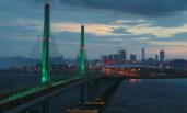 多角度航拍港珠澳大桥