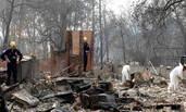 加州山火现场:已致76死1276人失踪