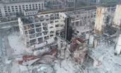 航拍河南气化厂爆炸现场