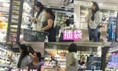 """58岁""""霸王花""""胡慧中逛超市 霸气指挥佣人扫货"""