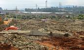 为了补偿款 村民临时盖了280栋砖房
