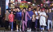 吴镇宇新戏300人茬架阵仗惊人 引市民误会报警