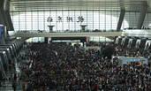 """全国铁路迎来""""国庆黄金周""""高峰 预计发送旅客1.1亿人次"""