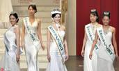 这是2017国际小姐大赛的日本代表