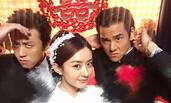 赵丽颖与邓超彭于晏搞怪自拍 被韩寒公主抱露甜笑