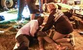 美国醉汉驾车冲入游行观众 28人受伤